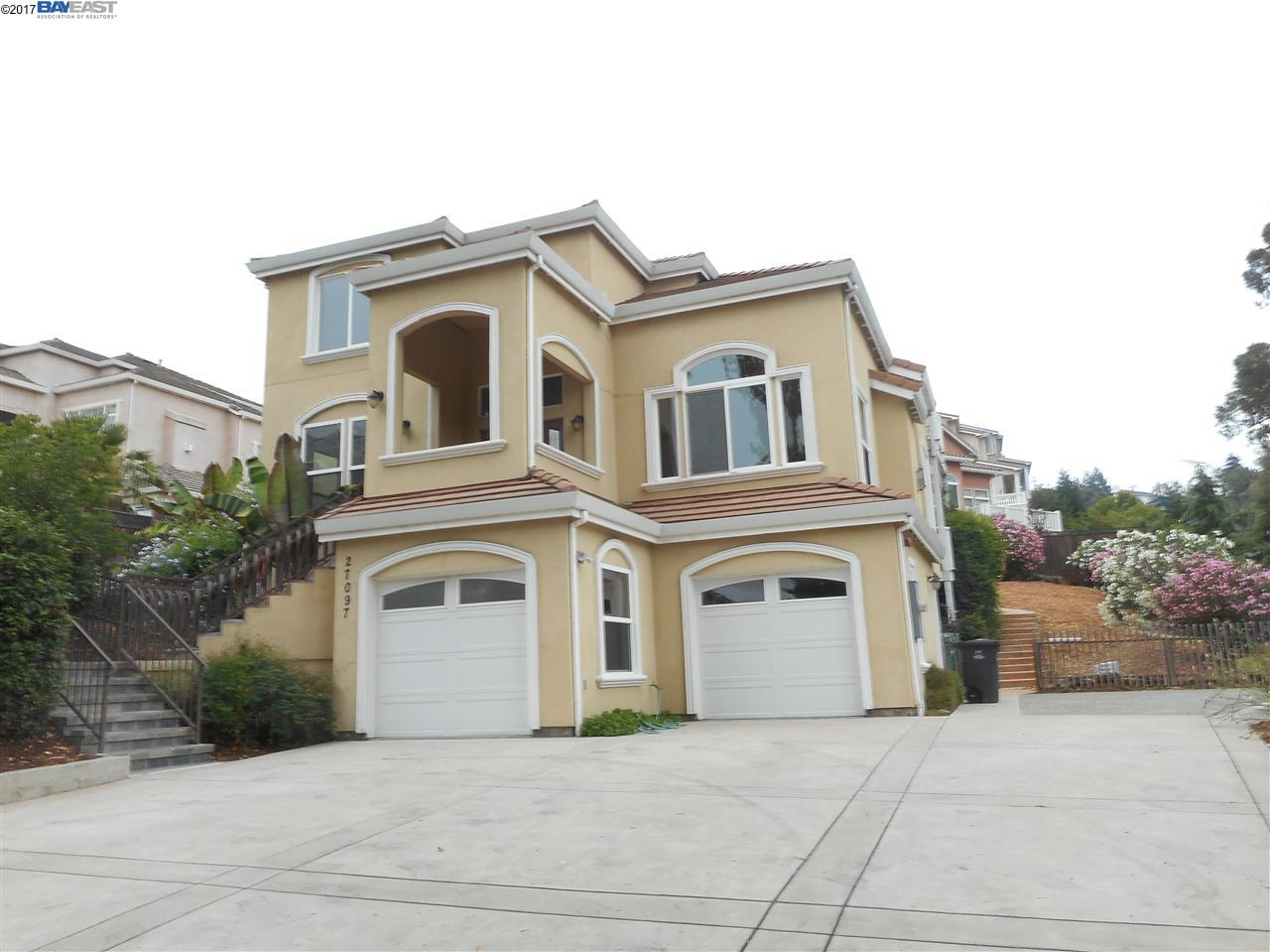 Single Family Home for Sale at 27097 Call Avenue Hayward, California 94524 United States