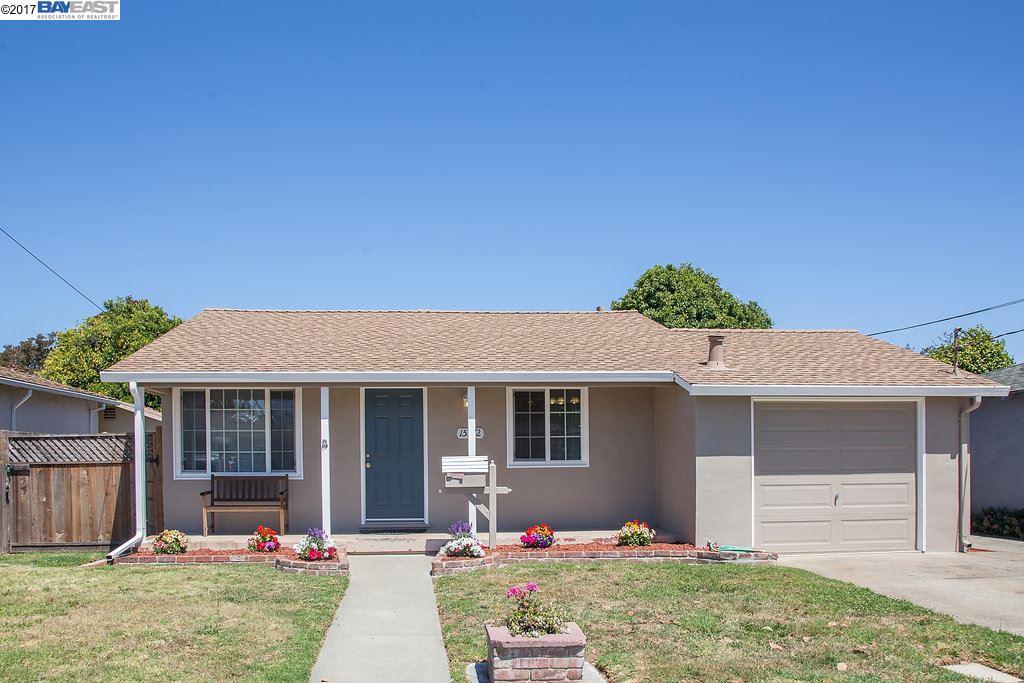 15372 Edgemoor Street, SAN LEANDRO, CA 94579