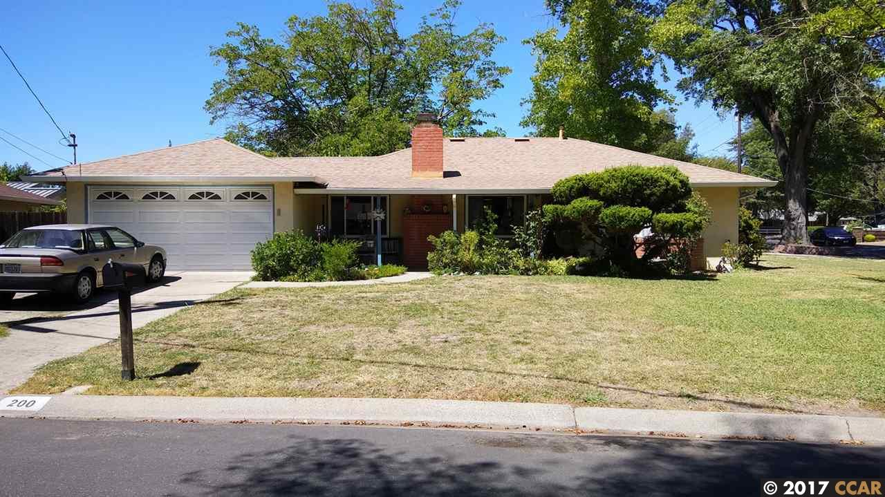 200 Evelyn Dr, PLEASANT HILL, CA 94523