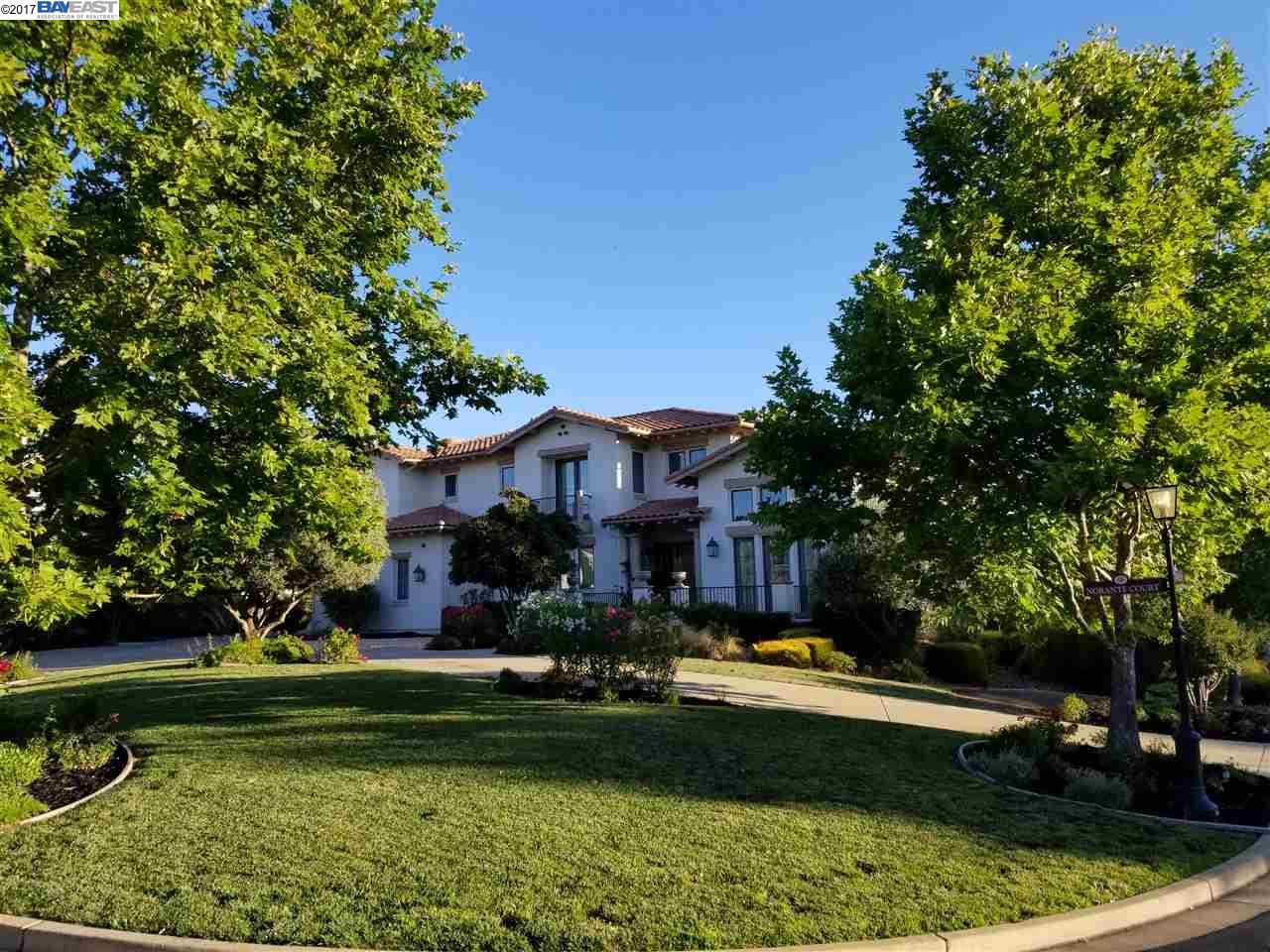 Single Family Home for Sale at 637 Norante Court Pleasanton, California 94566 United States