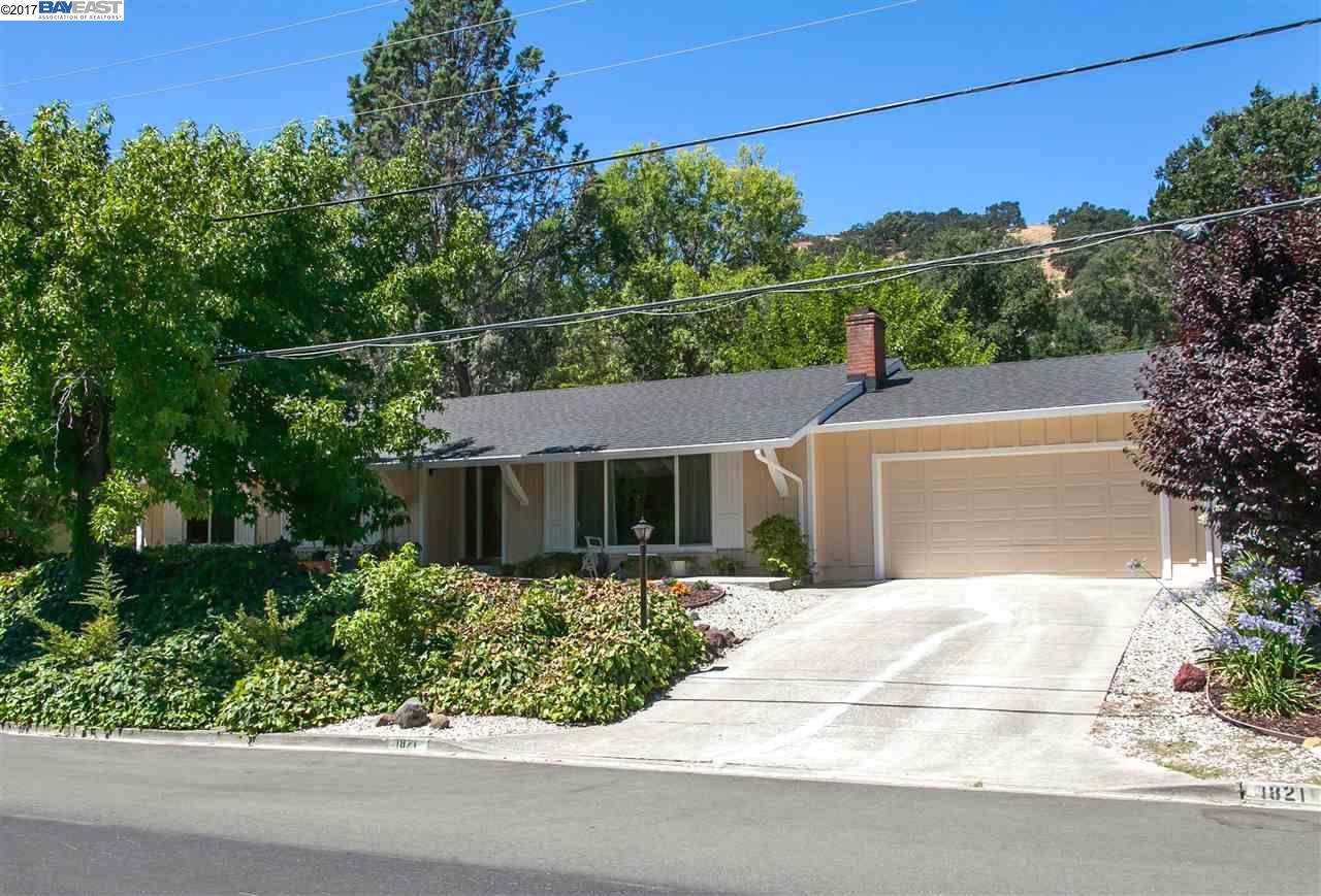 1821 Del Rey Street, LAFAYETTE, CA 94549