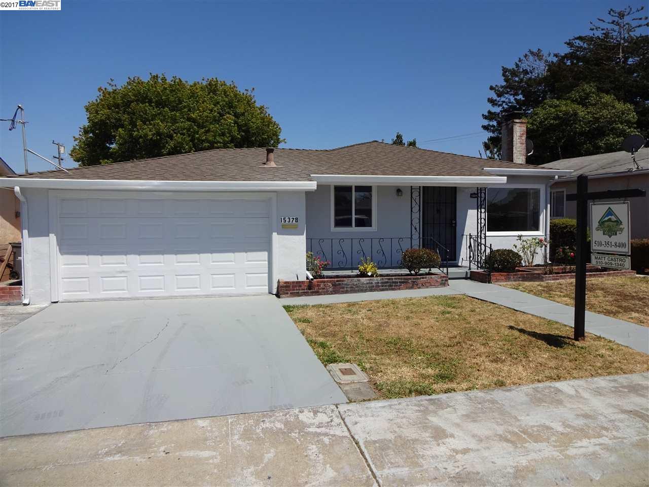 15378 Dewey St, SAN LEANDRO, CA 94579
