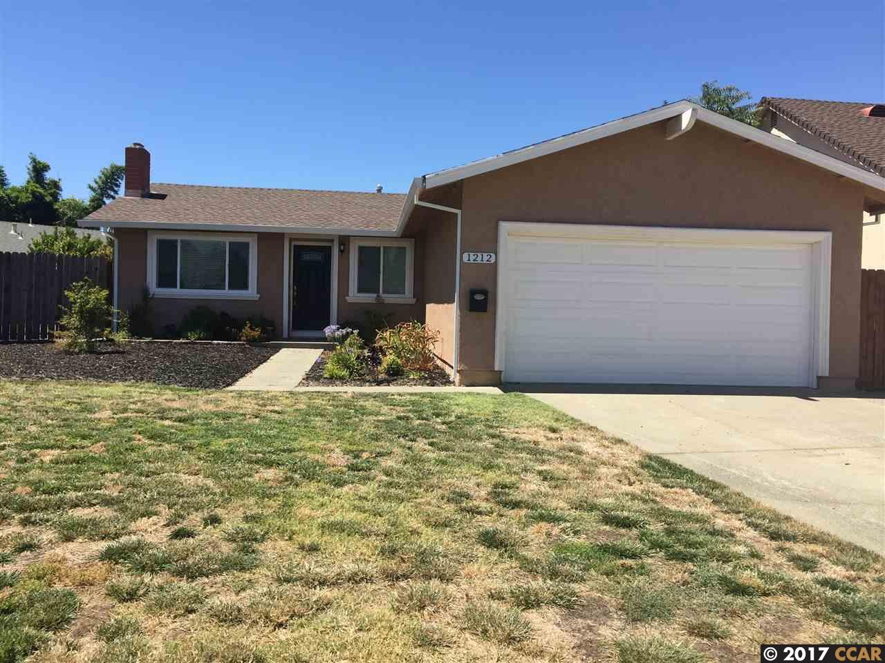 Casa Unifamiliar por un Venta en 1212 Willet Court 1212 Willet Court Fairfield, California 94533 Estados Unidos