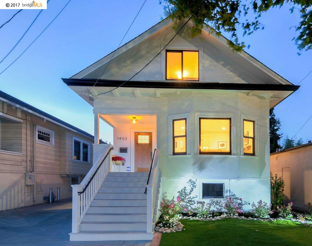 1403 Alcatraz Ave., BERKELEY, CA 94702