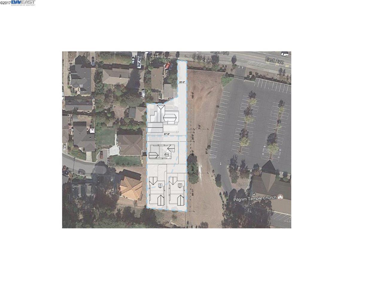 土地 為 出售 在 2489 East Avenue 2489 East Avenue Hayward, 加利福尼亞州 94541 美國