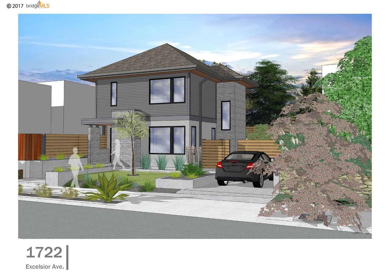 واحد منزل الأسرة للـ Sale في 1722 Excelsior Avenue 1722 Excelsior Avenue Oakland, California 94602 United States