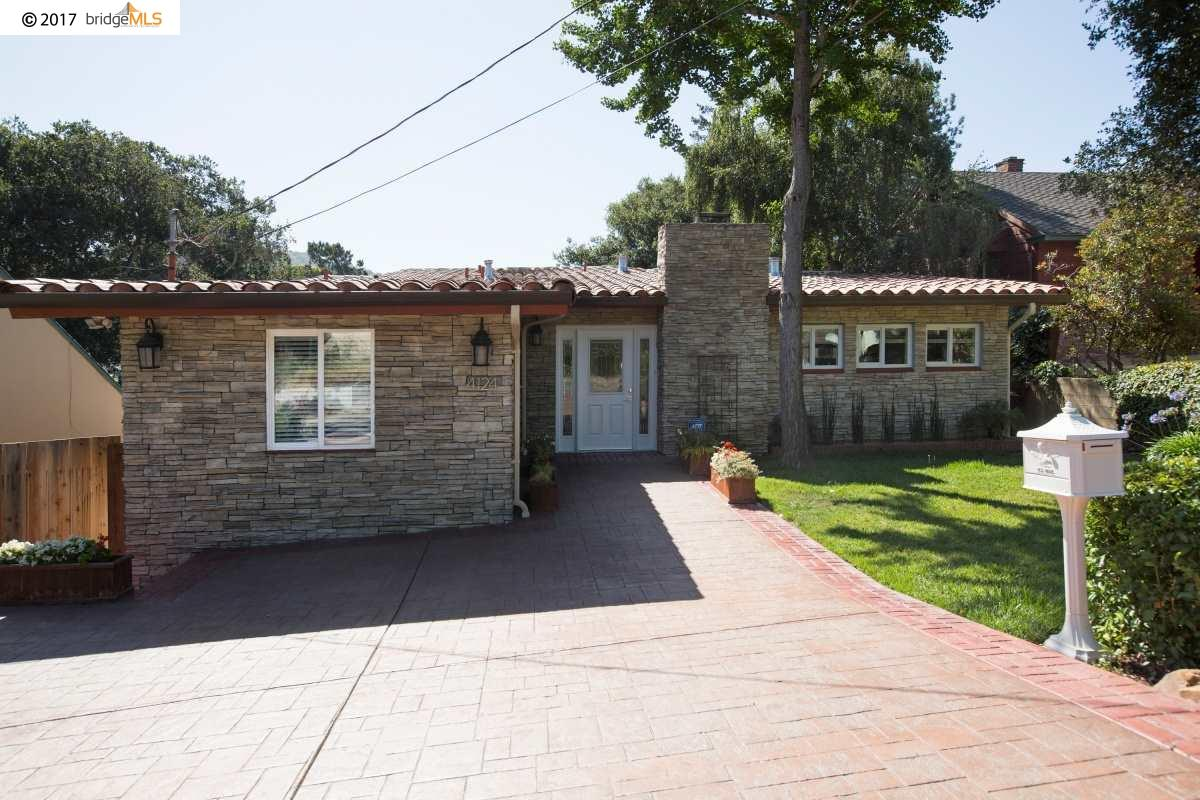 Single Family Home for Sale at 4124 Gregory Street 4124 Gregory Street Oakland, California 94619 United States