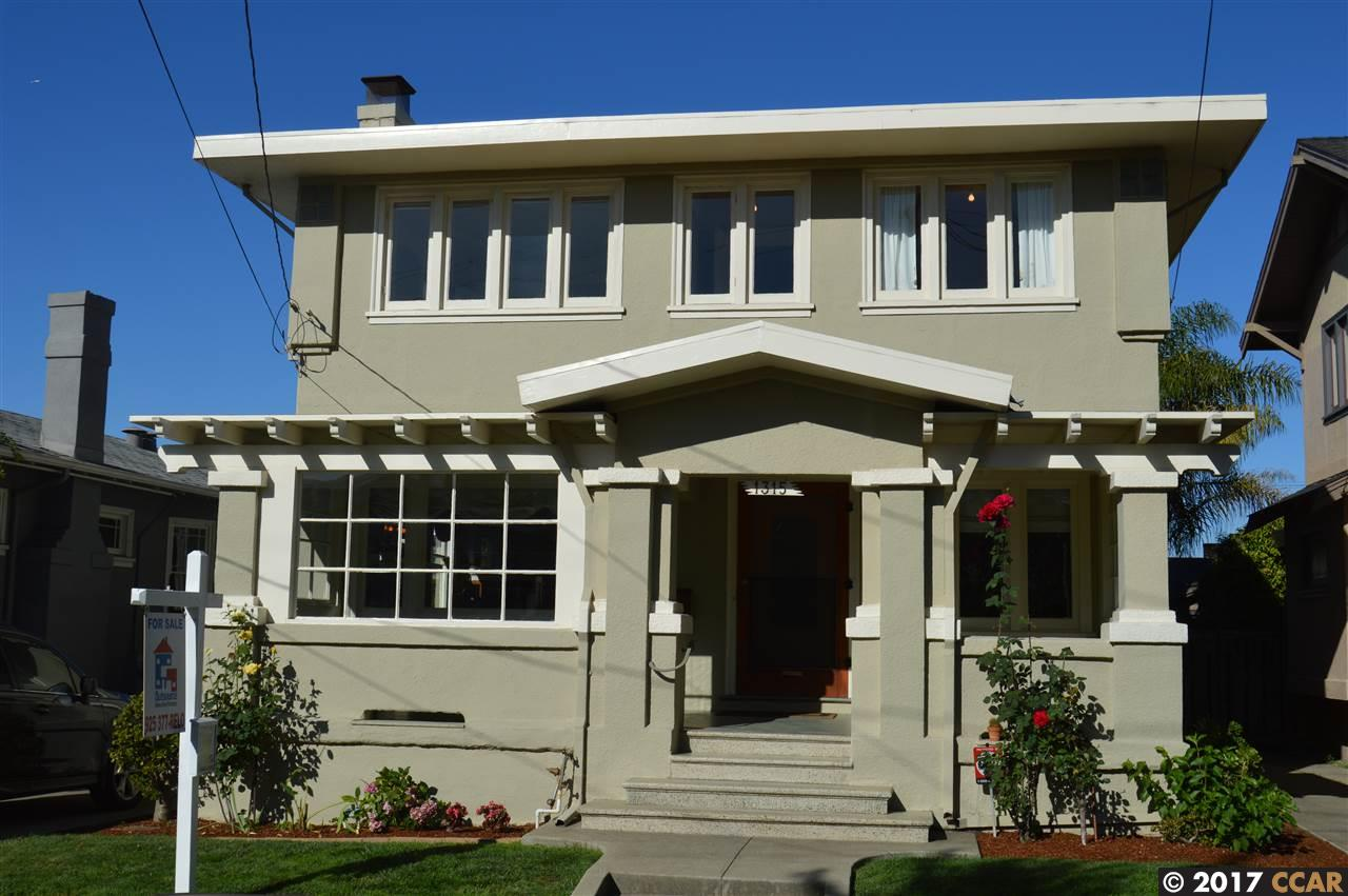 1315 El Centro Ave, OAKLAND, CA 94602