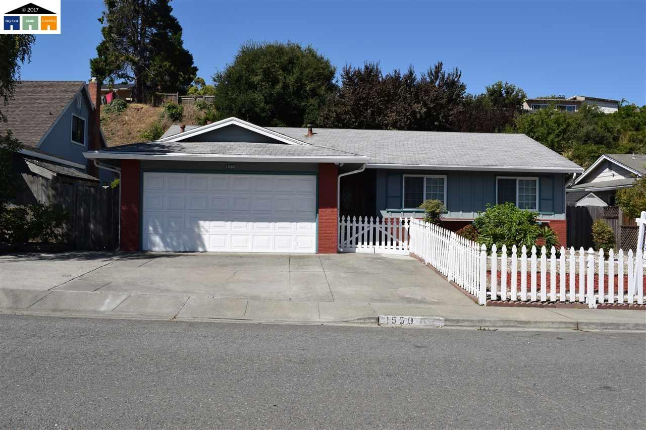 Casa Unifamiliar por un Venta en 1550 Kildare Way Pinole, California 94564 Estados Unidos