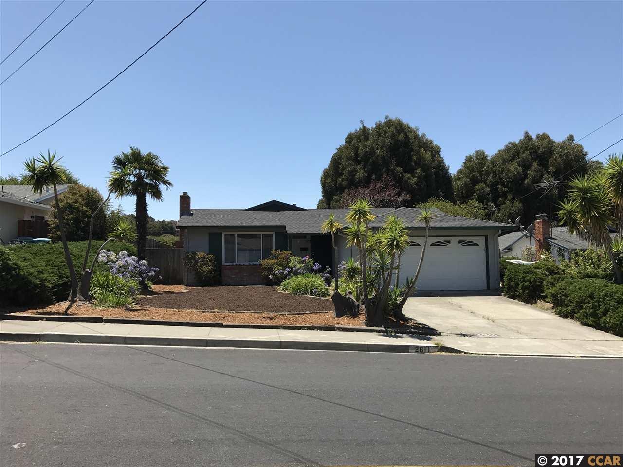 一戸建て のために 売買 アット 2611 Shamrock Drive 2611 Shamrock Drive San Pablo, カリフォルニア 94806 アメリカ合衆国
