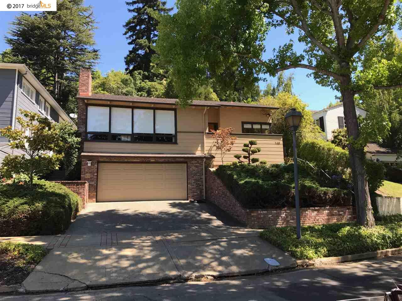 Single Family Home for Rent at 148 Sandringham Road Piedmont, California 94611 United States