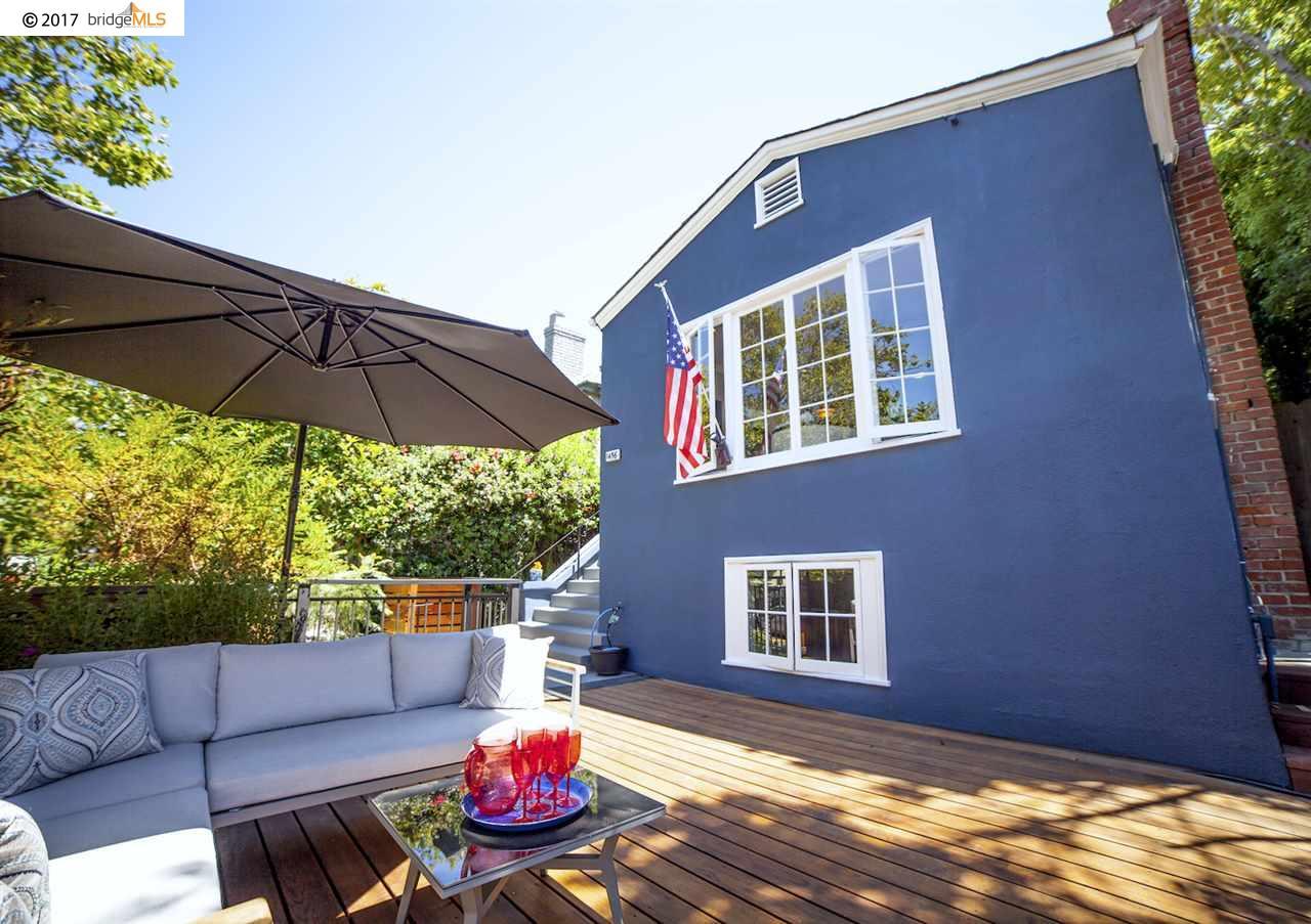 Частный односемейный дом для того Продажа на 1456 Grand Avenue Piedmont, Калифорния 94610 Соединенные Штаты