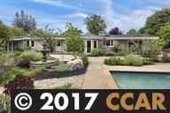 Einfamilienhaus für Mieten beim 3151 Roundhill Road Alamo, Kalifornien 94507 Vereinigte Staaten