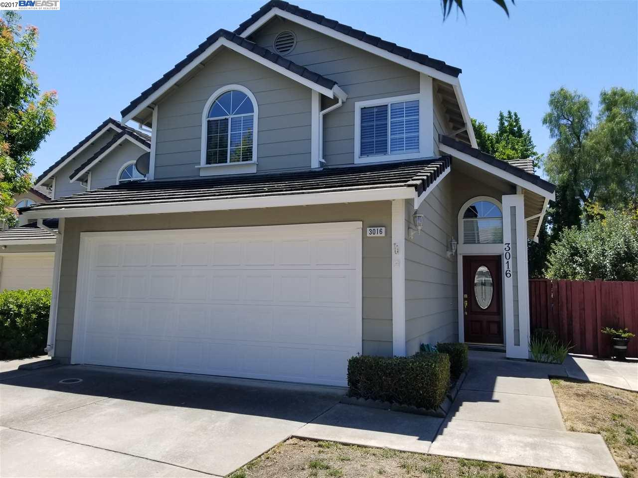 3016 Badger Dr., PLEASANTON, CA 94566
