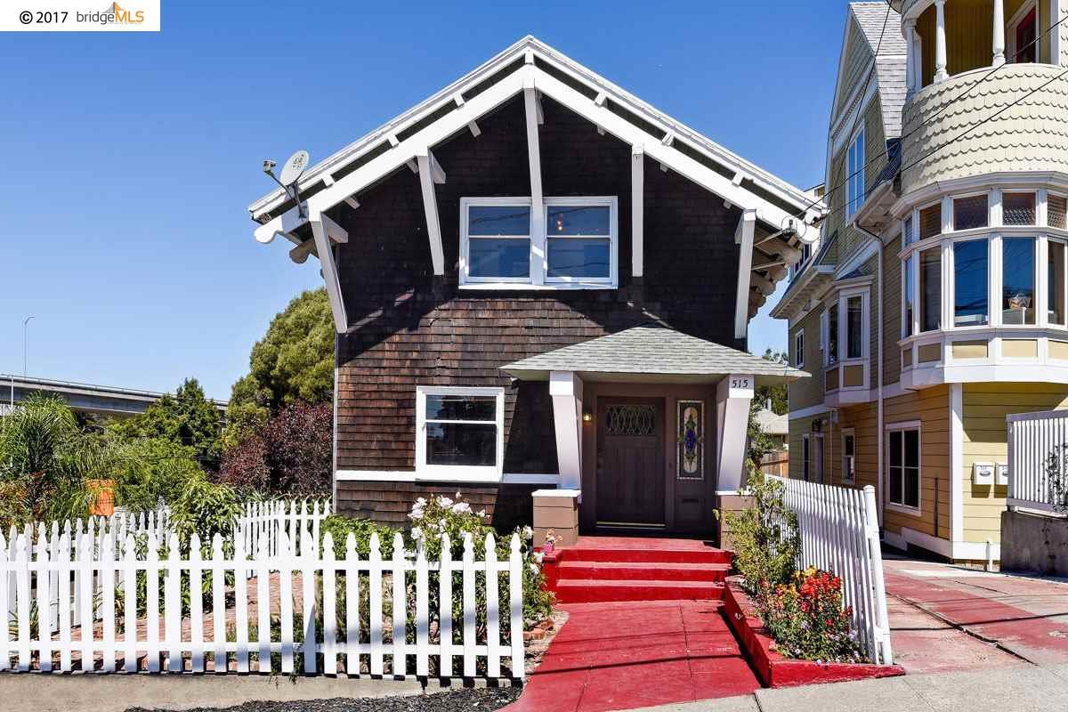 獨棟家庭住宅 為 出售 在 515 Oakland Avenue 515 Oakland Avenue Oakland, 加利福尼亞州 94611 美國