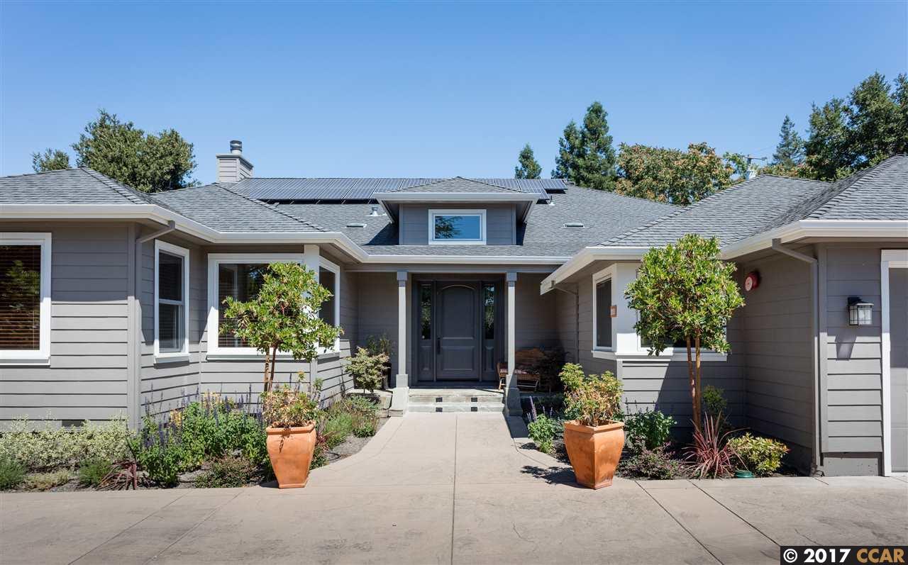 Einfamilienhaus für Mieten beim 3324 Las Huertas Road Lafayette, Kalifornien 94549 Vereinigte Staaten