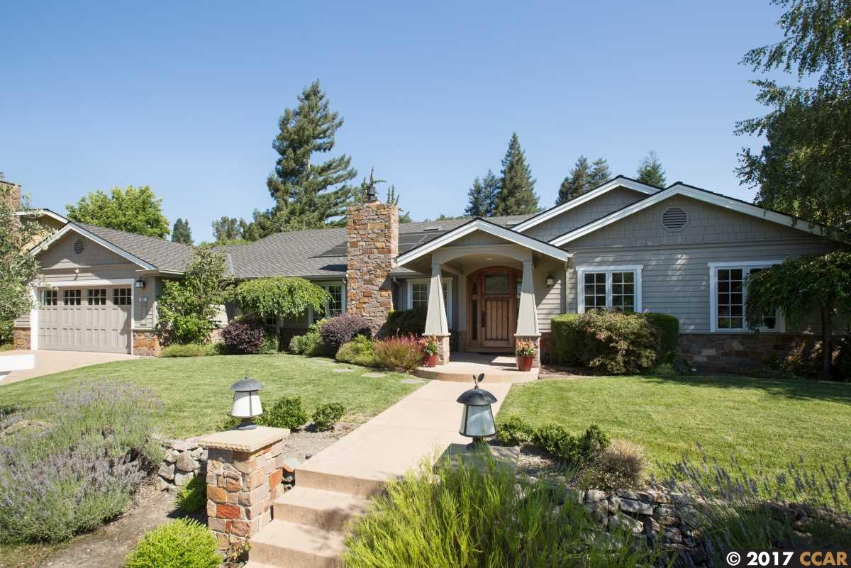 Single Family Home for Sale at 433 Stonefield Place Moraga, California 94556 United States
