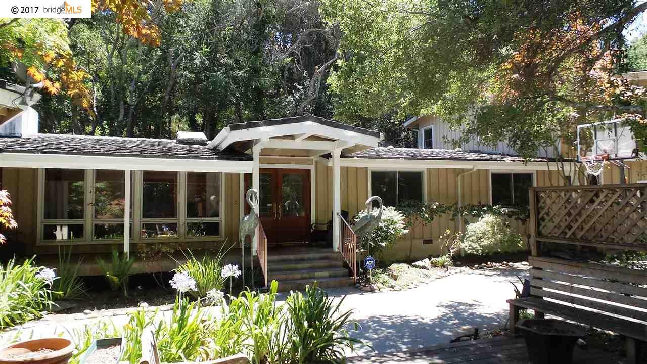 獨棟家庭住宅 為 出租 在 3125 Canyon Road Burlingame, 加利福尼亞州 94010 美國