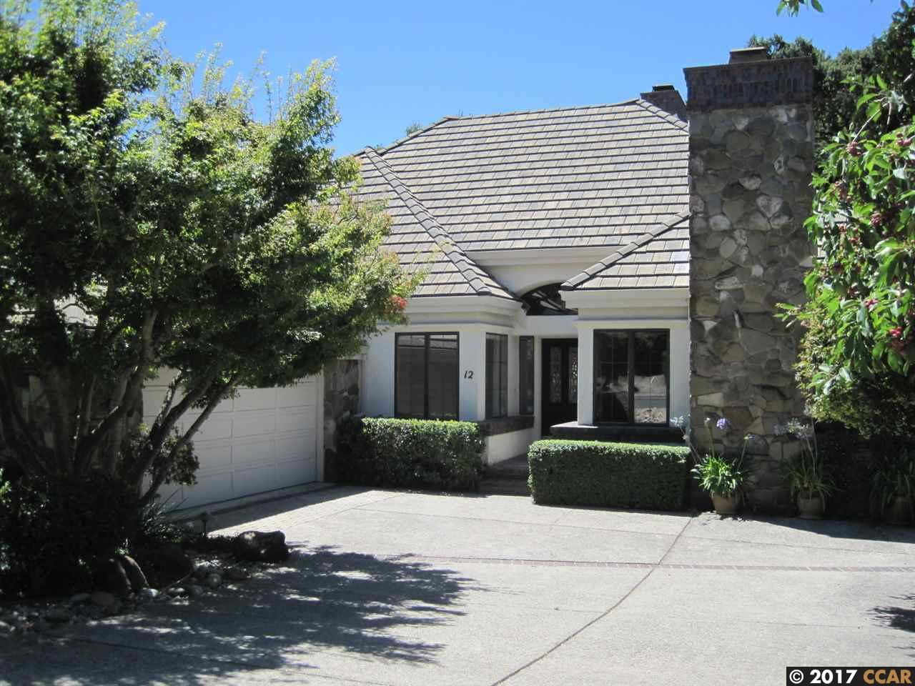 واحد منزل الأسرة للـ Rent في 12 Harrington Moraga, California 94556 United States