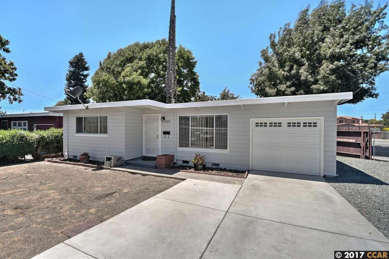 واحد منزل الأسرة للـ Sale في 2559 20Th Street 2559 20Th Street San Pablo, California 94806 United States