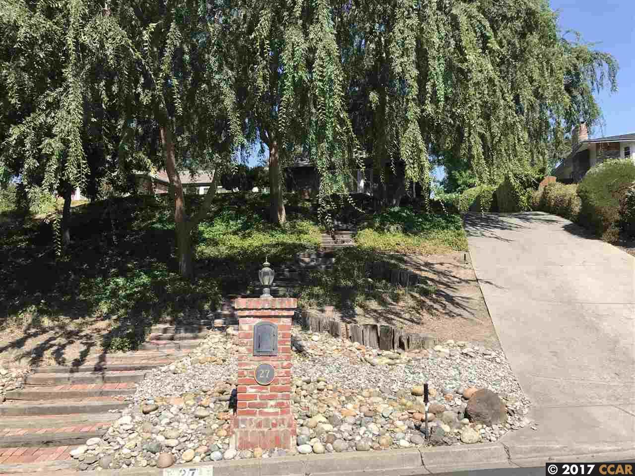 Einfamilienhaus für Mieten beim 27 Mott Drive Alamo, Kalifornien 94507 Vereinigte Staaten