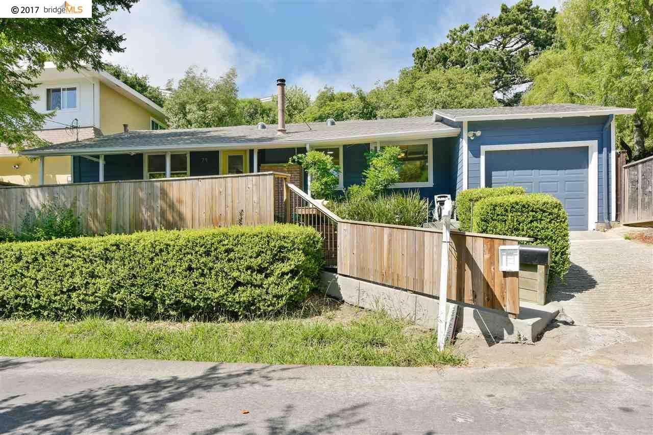 獨棟家庭住宅 為 出售 在 71 Rincon Road Kensington, 加利福尼亞州 94707 美國