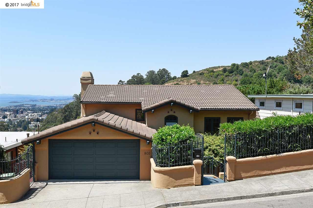 803 Alvarado Rd, BERKELEY, CA 94705