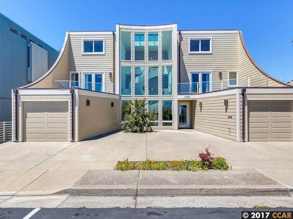 Single Family Home for Sale at 1405 Sandpiper Spit Richmond, California 94801 United States