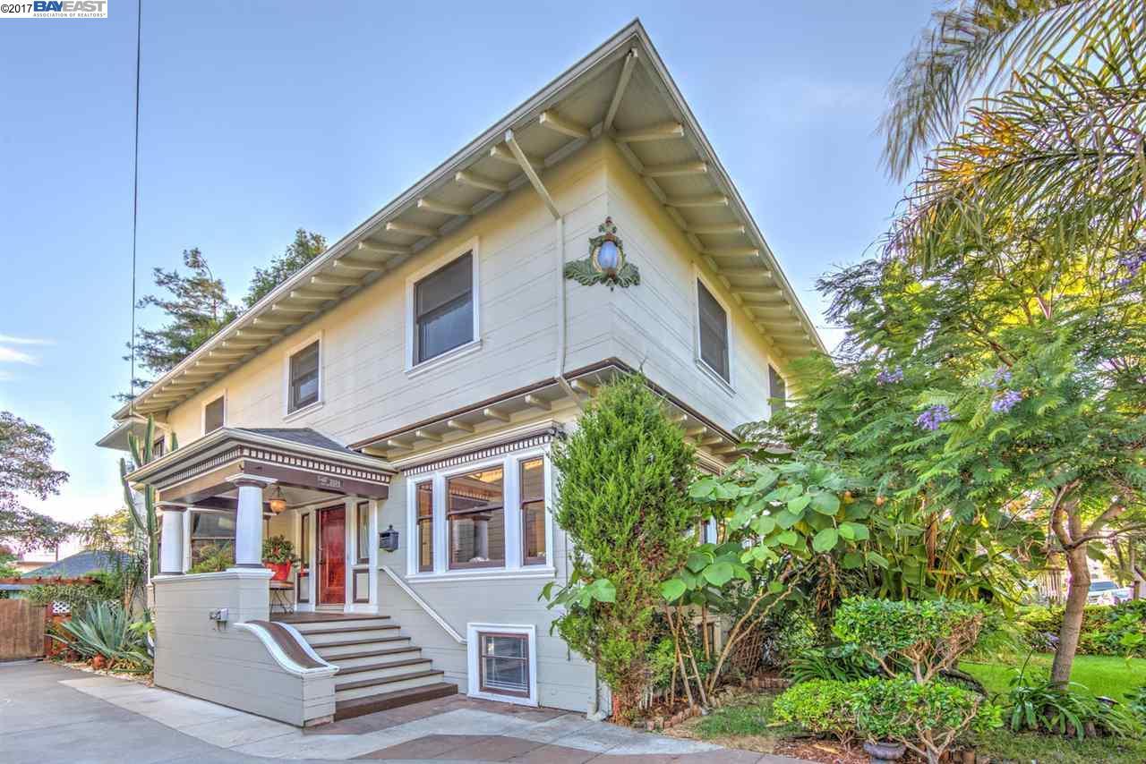 多戶家庭房屋 為 出售 在 2034 San Antonio Avenue 2034 San Antonio Avenue Alameda, 加利福尼亞州 94501 美國