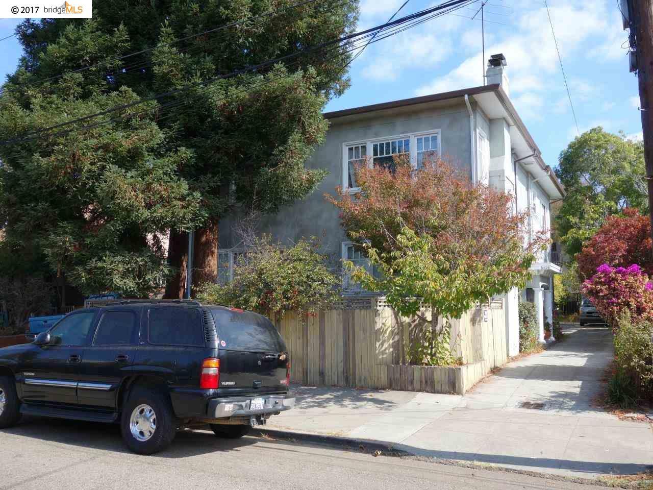 Multi-Family Home for Sale at 6426 Benvenue Avenue Oakland, California 94618 United States