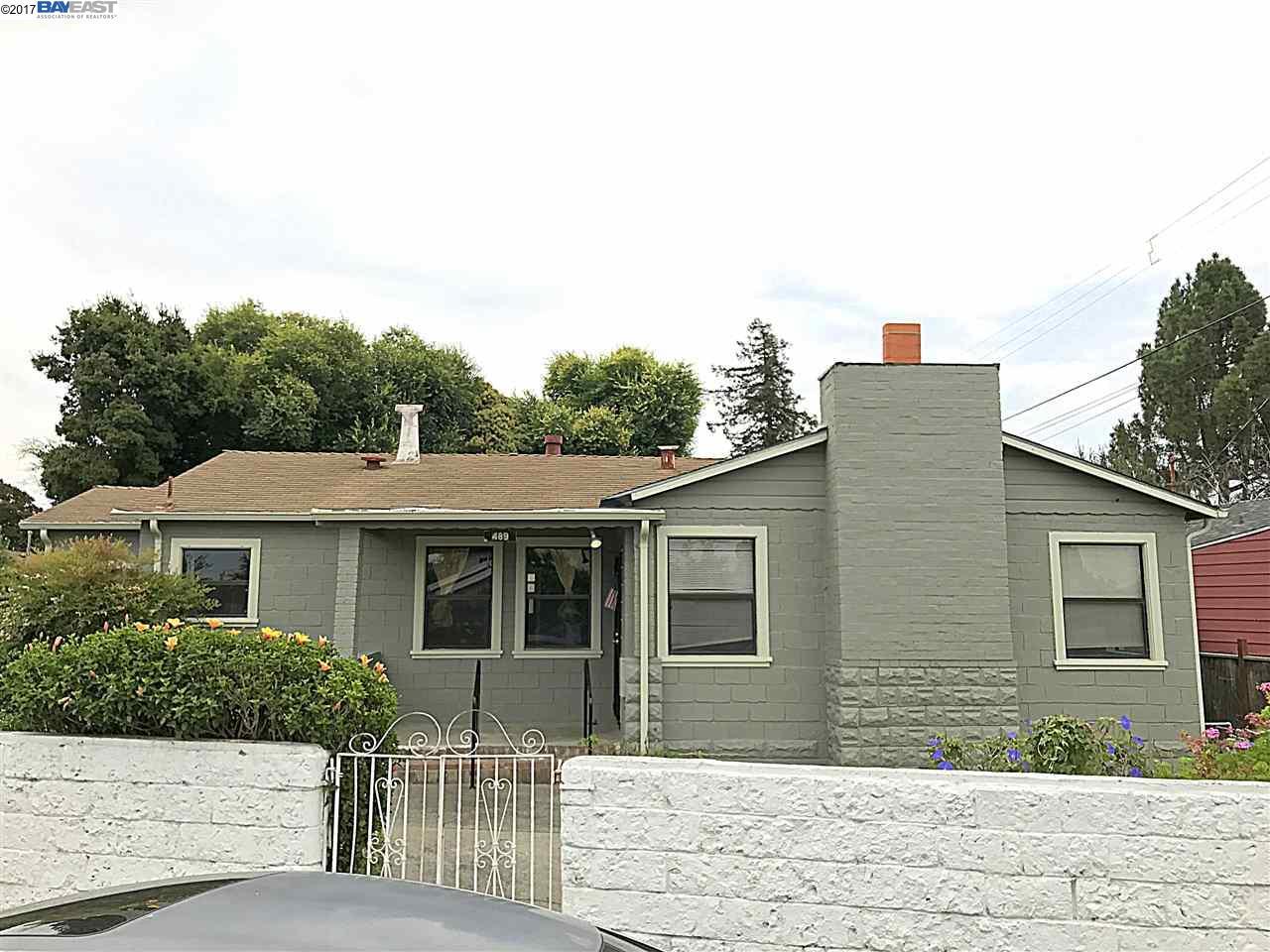 一戸建て のために 賃貸 アット 489 Meek Avenue Hayward, カリフォルニア 94541 アメリカ合衆国