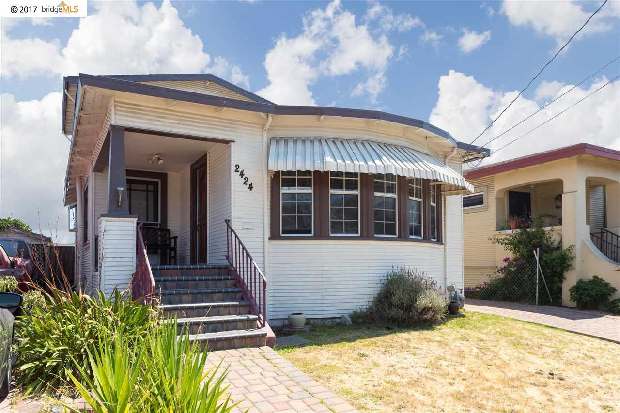 Частный односемейный дом для того Продажа на 2424 67Th Avenue 2424 67Th Avenue Oakland, Калифорния 94605 Соединенные Штаты