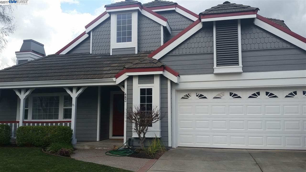 Maison unifamiliale pour l à louer à 483 LOS RIOS Court Pleasanton, Californie 94566 États-Unis