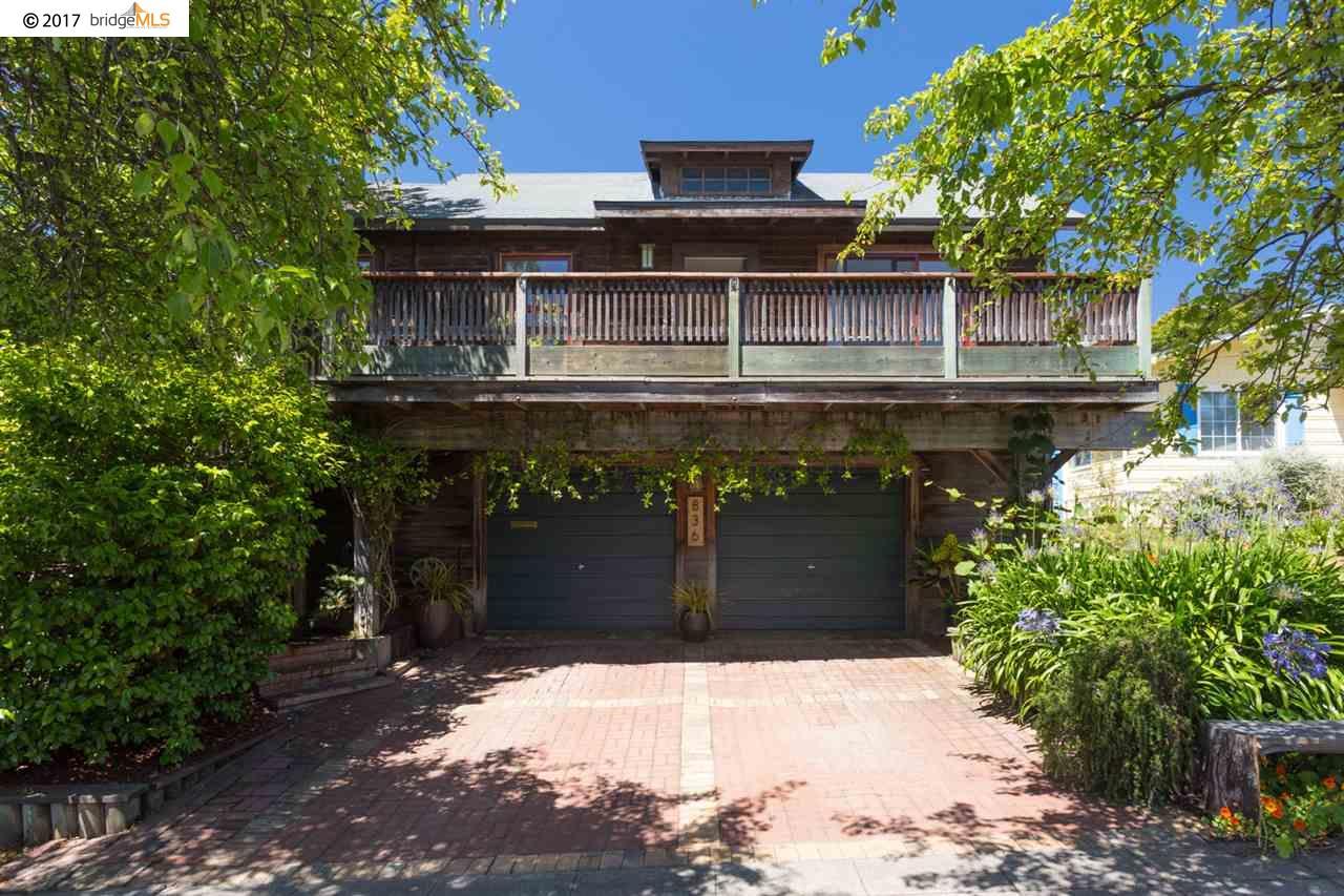 Mehrfamilienhaus für Verkauf beim 836 Jackson Street Albany, Kalifornien 94706 Vereinigte Staaten