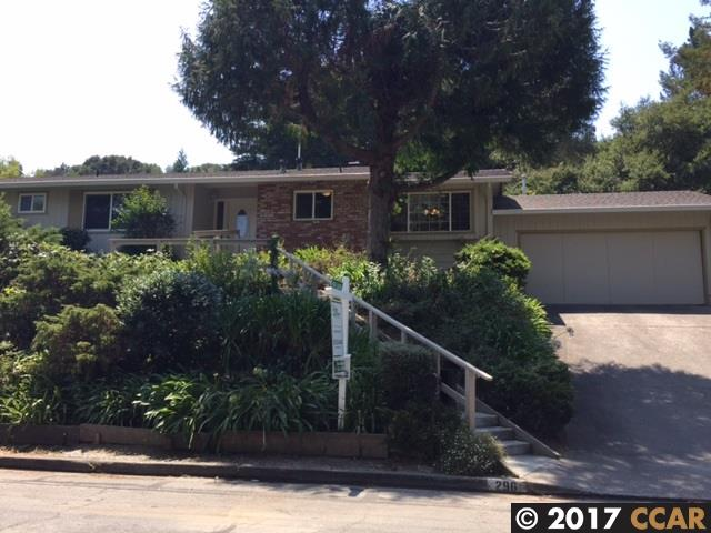 Single Family Home for Rent at 296 Tharp Drive Moraga, California 94556 United States