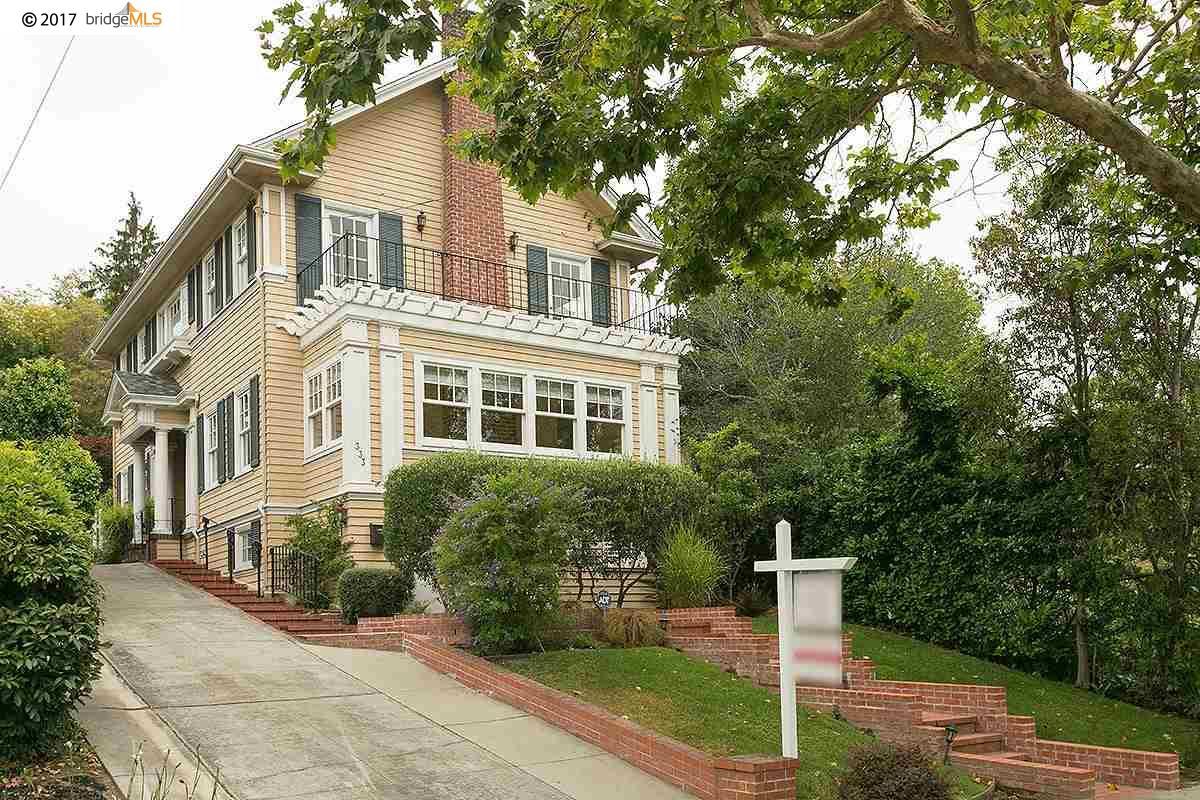 Casa Unifamiliar por un Alquiler en 333 Sea View Avenue Piedmont, California 94610 Estados Unidos