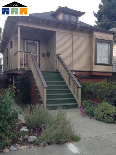 واحد منزل الأسرة للـ Sale في 4115 Gilbert Street 4115 Gilbert Street Oakland, California 94611 United States