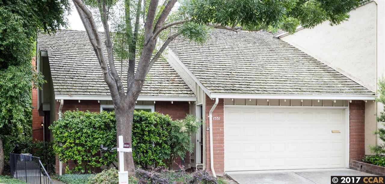تاون هاوس للـ Rent في 1531 Siskiyou Drive Walnut Creek, California 94598 United States