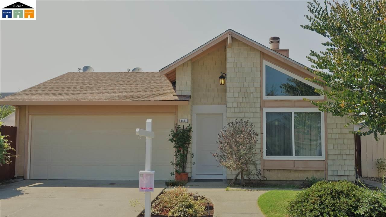 Maison unifamiliale pour l Vente à 3891 Dunbar Place Fremont, Californie 94536 États-Unis