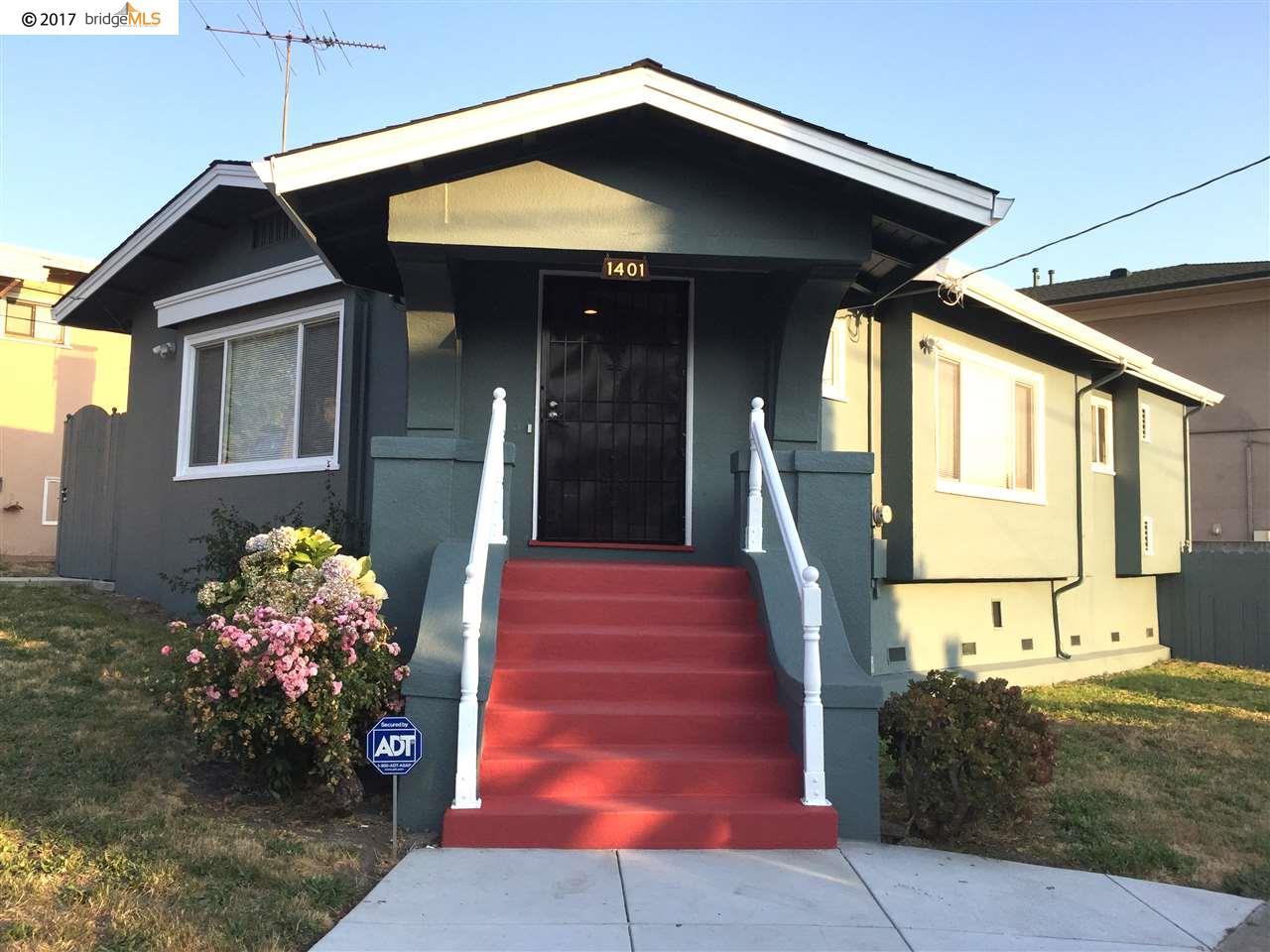 واحد منزل الأسرة للـ Sale في 1401 E 36Th Street 1401 E 36Th Street Oakland, California 94602 United States
