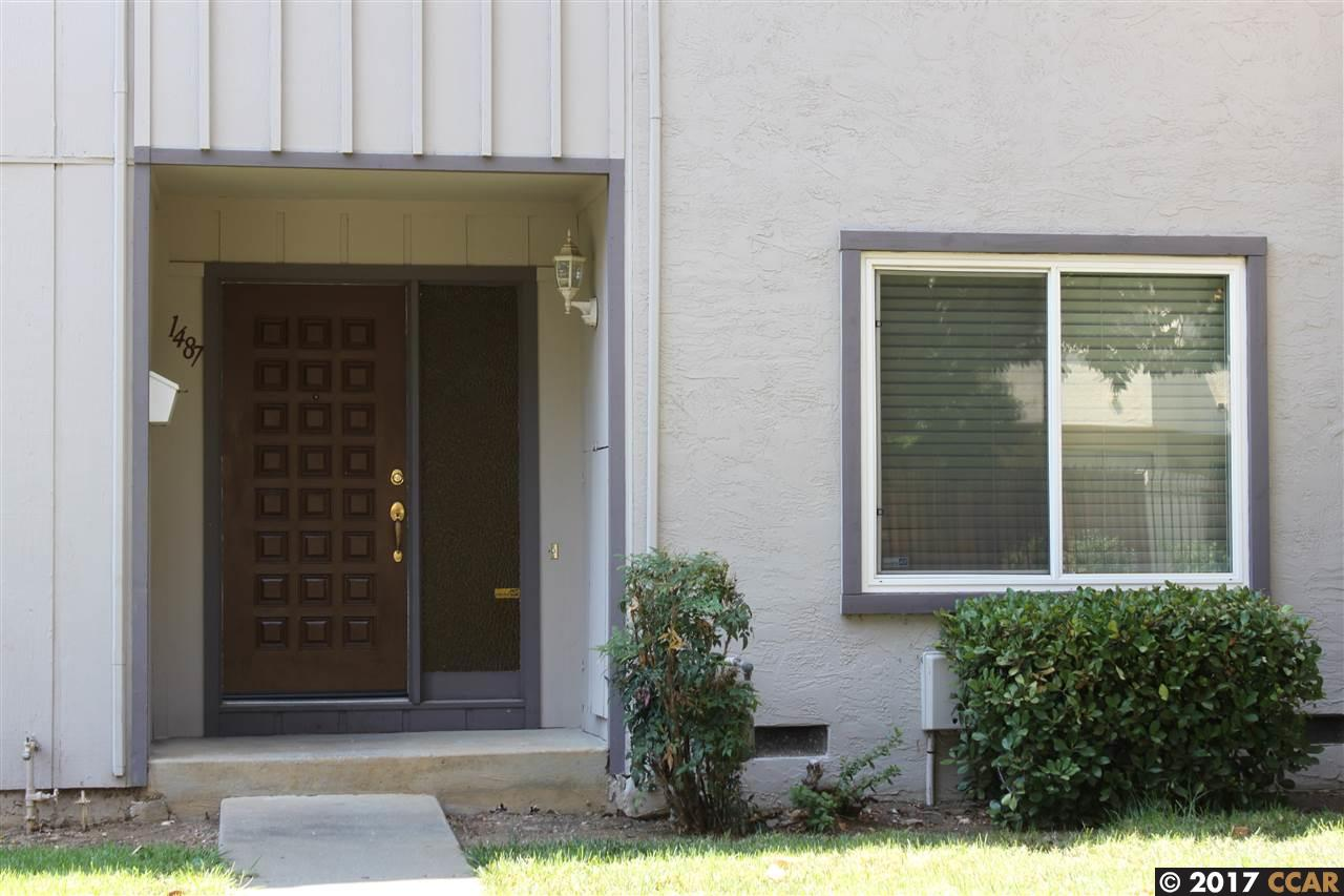 Townhouse for Sale at 1487 SAINT JAMES PARKWAY 1487 SAINT JAMES PARKWAY Concord, California 94521 United States