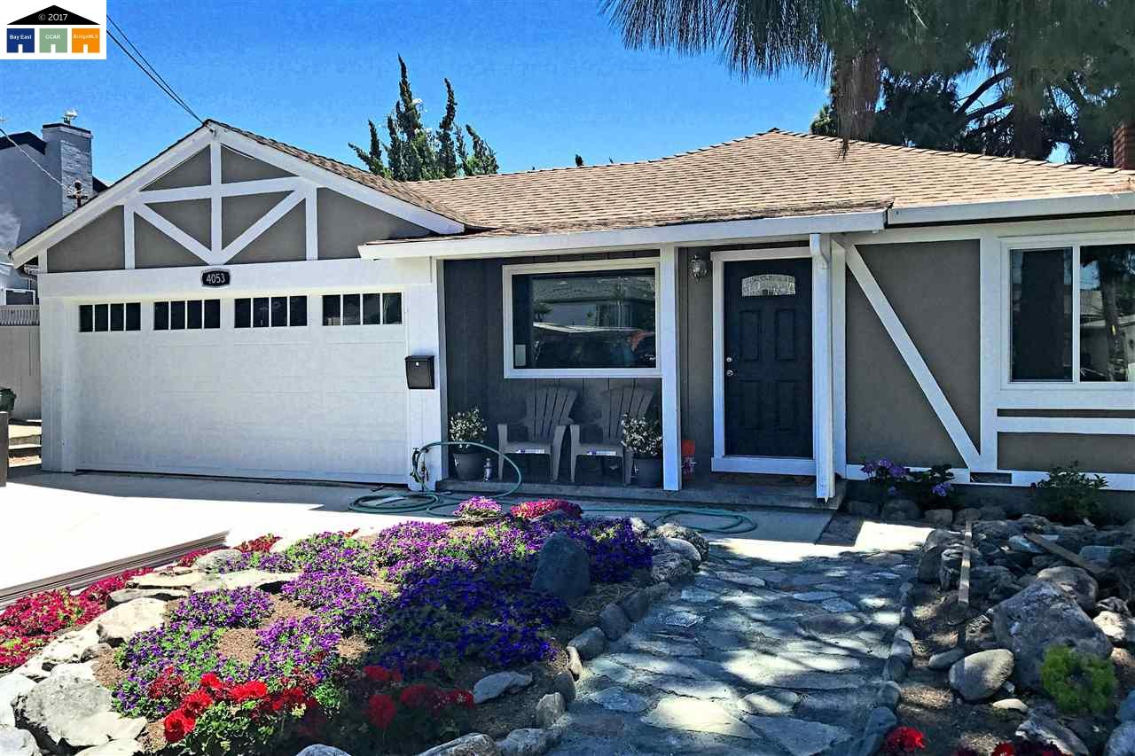 Single Family Home for Sale at 4053 Greenacre Road 4053 Greenacre Road Castro Valley, California 94546 United States
