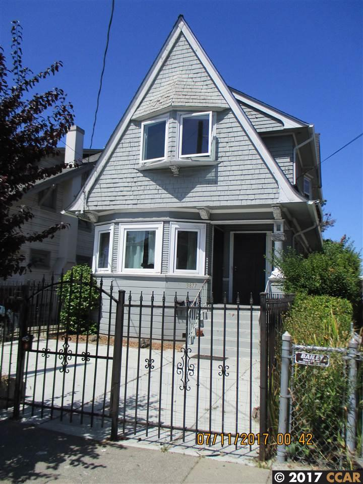 Multi-Family Home for Rent at 3879 West Street Oakland, California 94608 United States