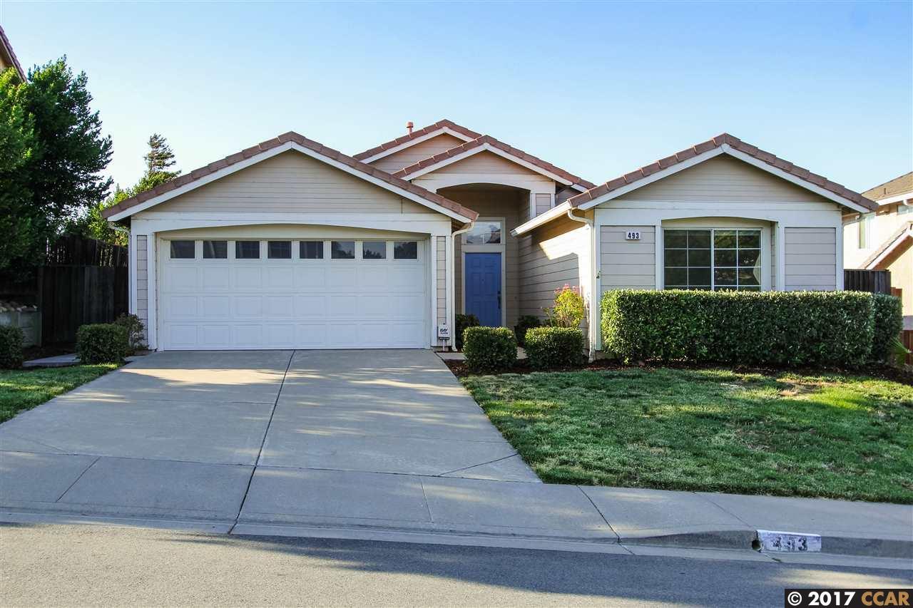 واحد منزل الأسرة للـ Sale في 493 Jill Avenue Bay Point, California 94565 United States