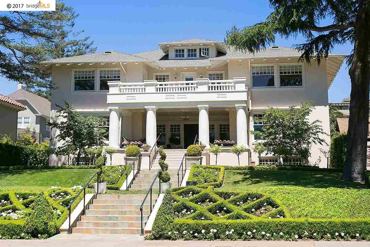 Casa Unifamiliar por un Alquiler en 622 Highland Avenue Piedmont, California 94611 Estados Unidos