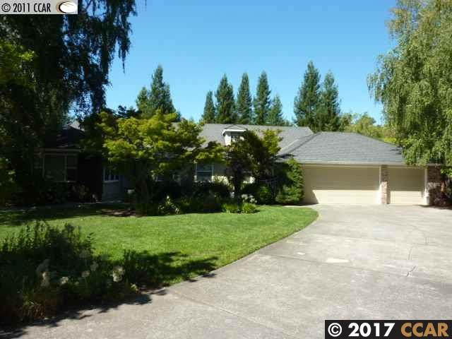 Einfamilienhaus für Mieten beim 170 DANIEL Drive 170 DANIEL Drive Alamo, Kalifornien 94507 Vereinigte Staaten