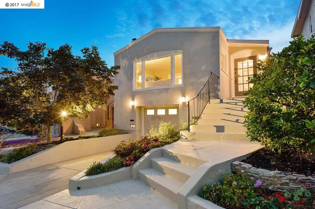 Casa Unifamiliar por un Venta en 4655 Park Boulevard Oakland, California 94602 Estados Unidos