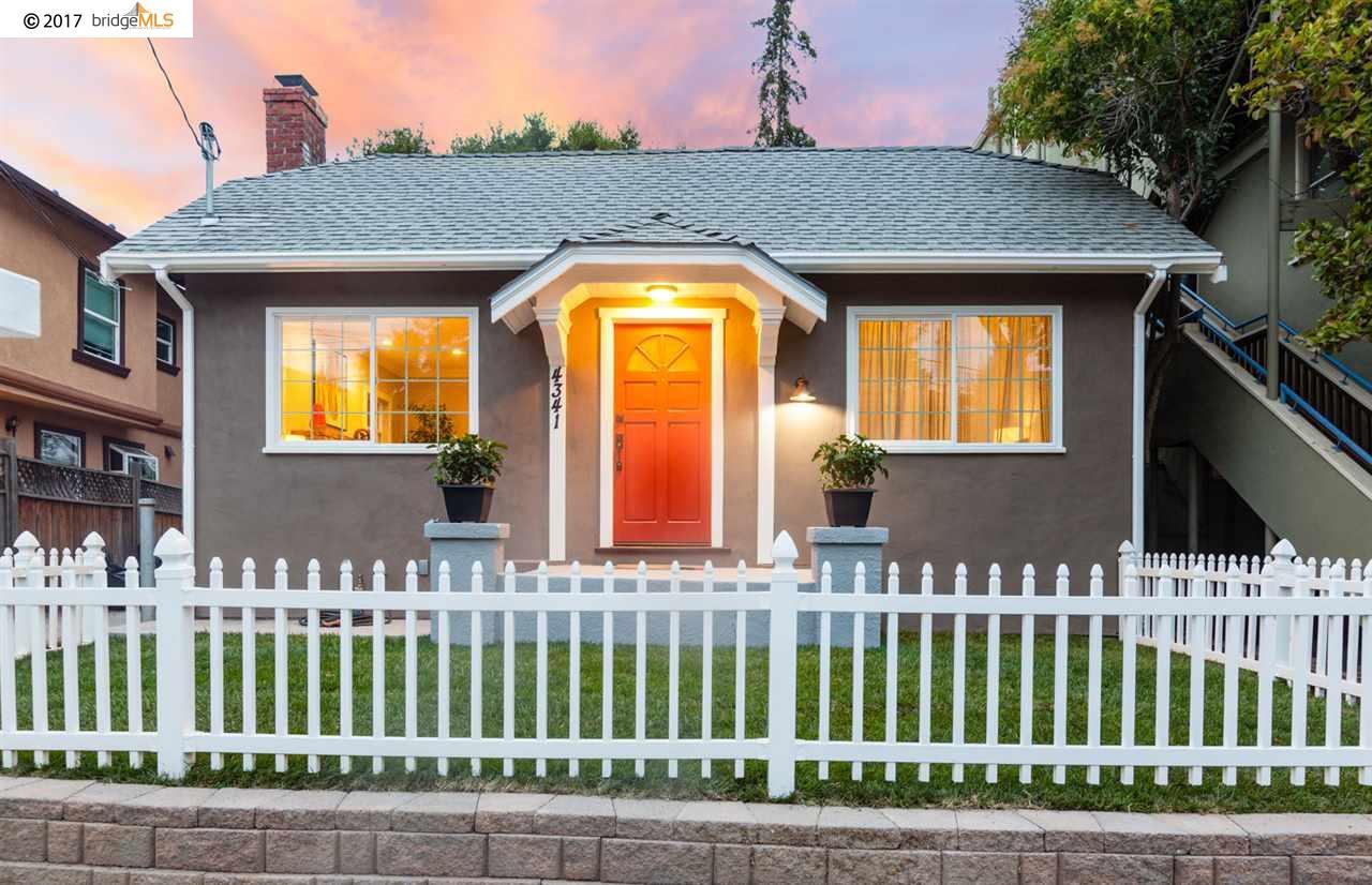 4341 Leach Avenue, OAKLAND, CA 94602