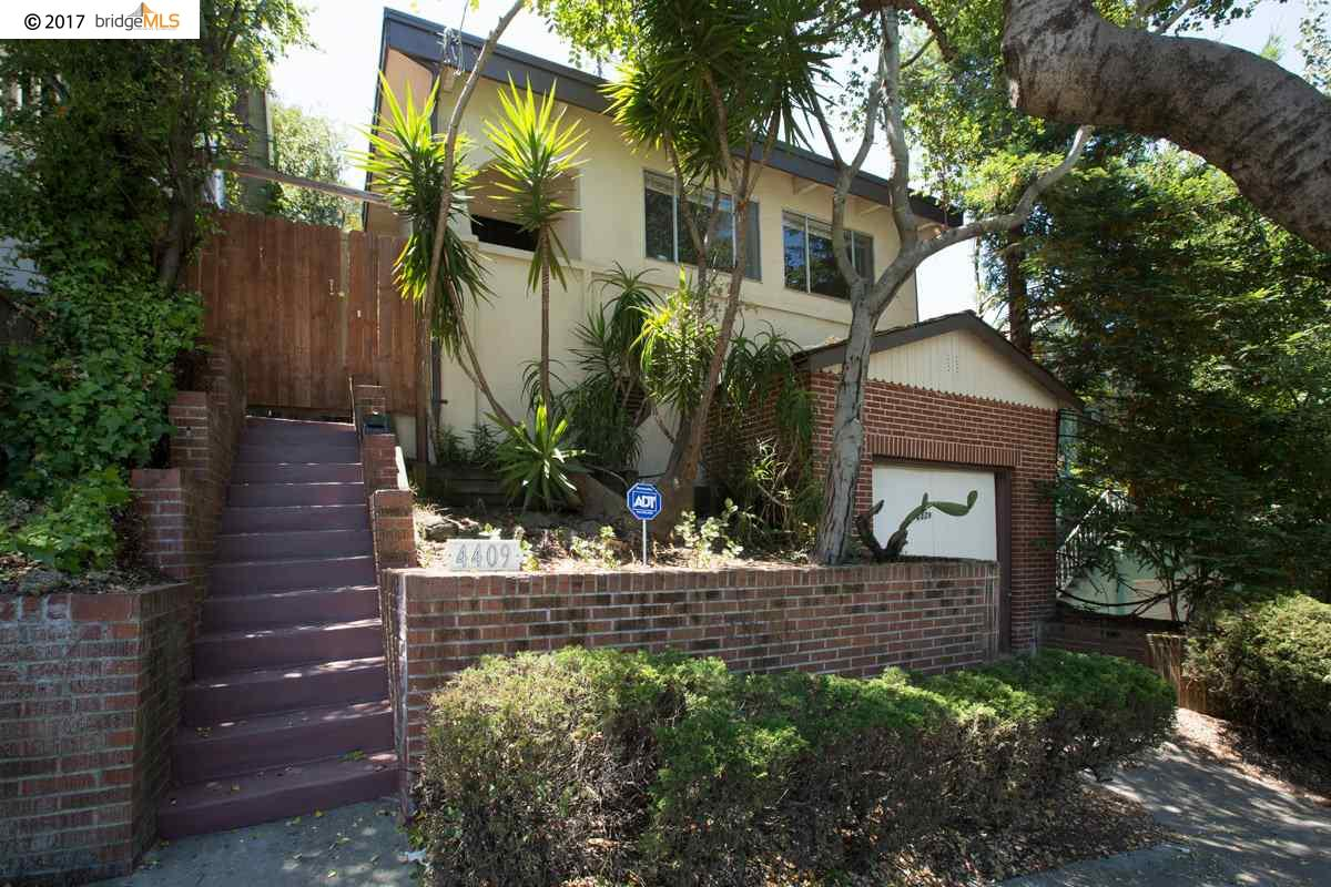 一戸建て のために 賃貸 アット 4409 Brookdale Avenue Oakland, カリフォルニア 94619 アメリカ合衆国