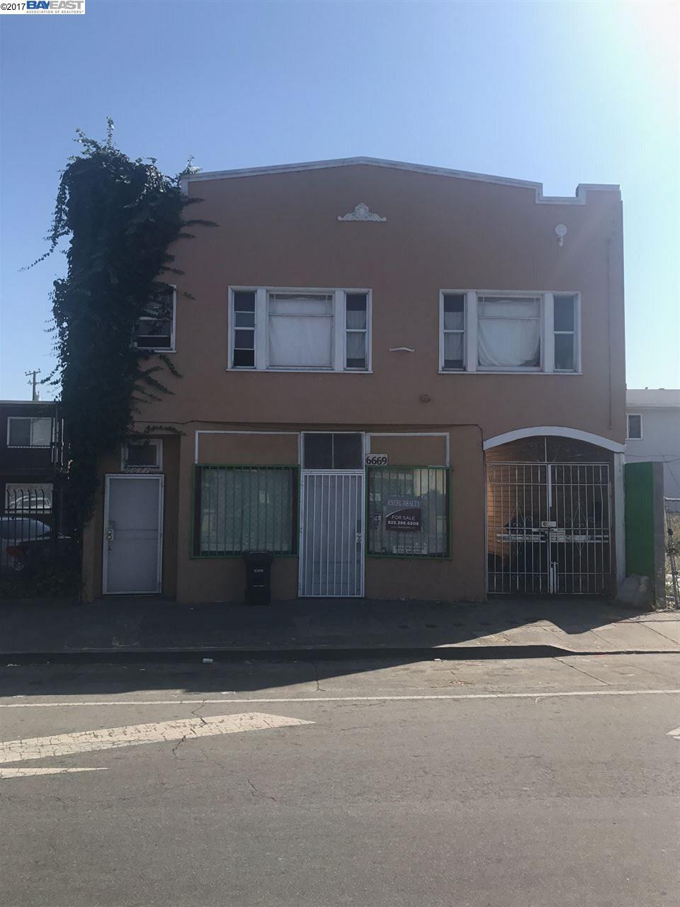 Mehrfamilienhaus für Verkauf beim 6669 Bancroft Avenue Oakland, Kalifornien 94605 Vereinigte Staaten